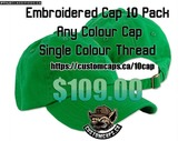 Embroidered Promotional Caps for your business!